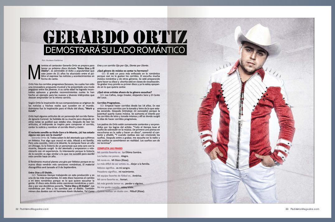 Fotos e Imagenes de Gerardo Ortiz   Univision Música